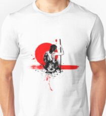 Trash Polka - Female Samurai Unisex T-Shirt