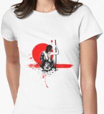 Trash Polka - Female Samurai Women's Fitted T-Shirt