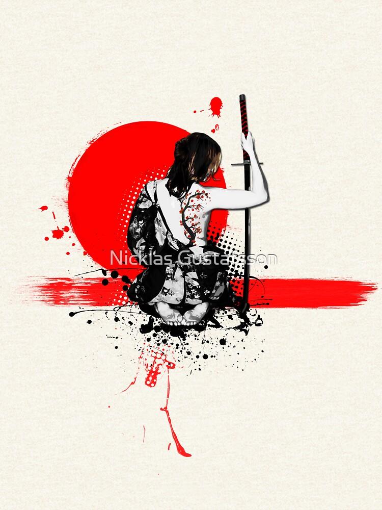 Trash Polka - Female Samurai by Nicklas81