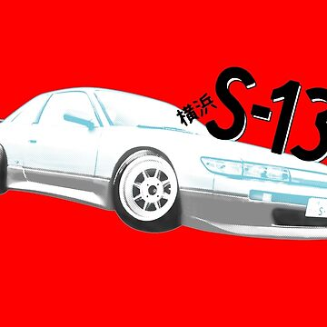 Classic Two Tone S13 - Halftone by Bacn