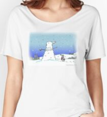 Snow Globes Women's Relaxed Fit T-Shirt