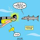 Barracuda Attitude by Rich Diesslin