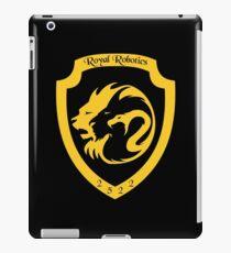 Königliches Robotik 2522 Team Crest iPad-Hülle & Klebefolie