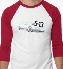 Classic Two Tone S13 - Halftone Men's Baseball ¾ T-Shirt