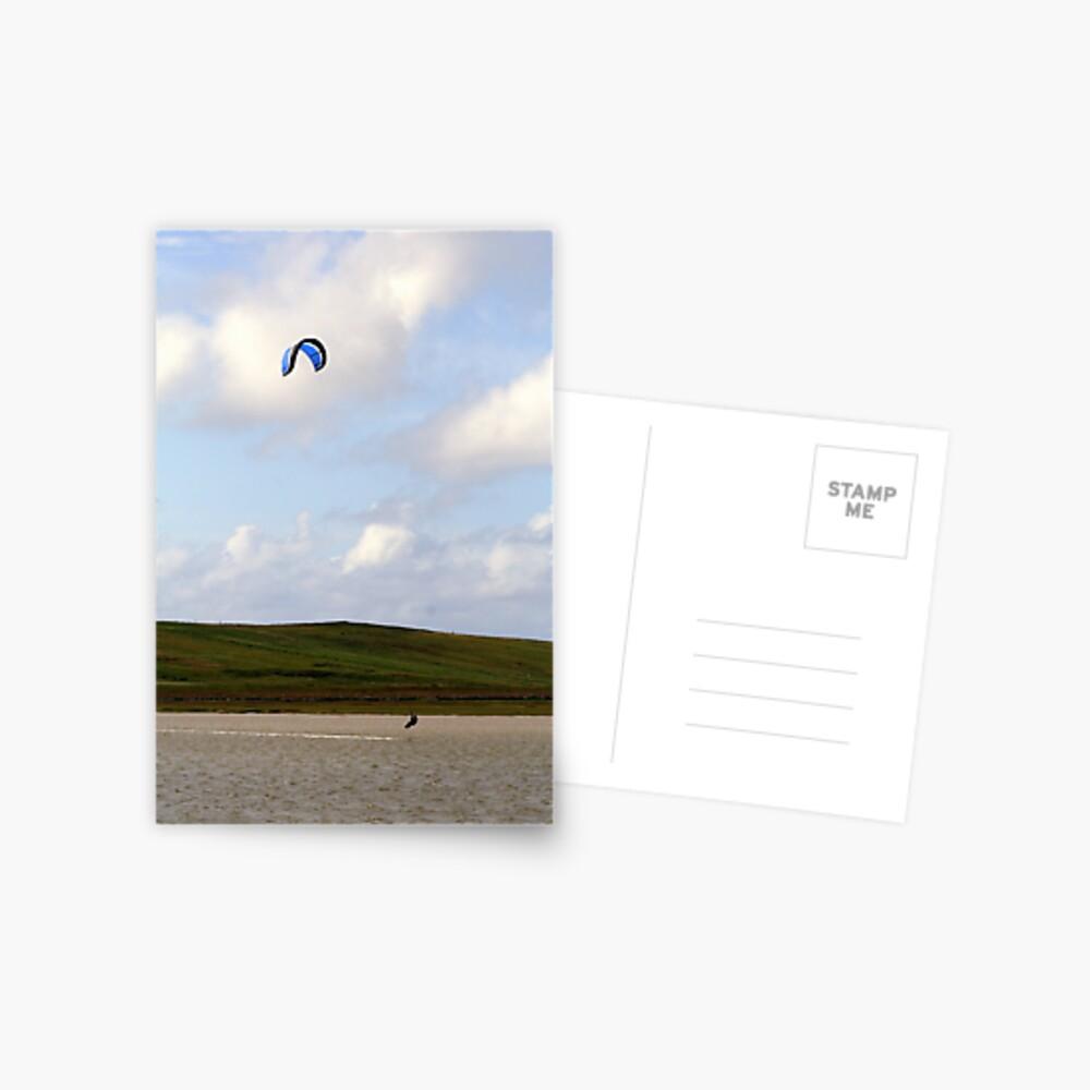 Kite-Surfer Postcard