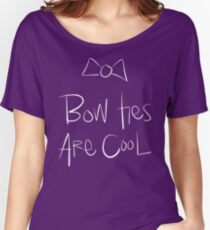 Doctor Who - Bow Ties Are Cool 2 Women's Relaxed Fit T-Shirt