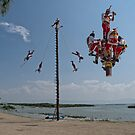 Voladores de Papantla in Chapala by Yukondick