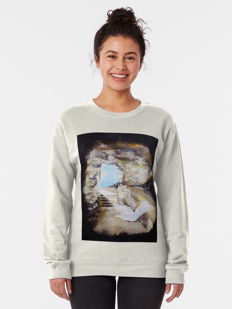 Alternate view of Empty Burial Tomb Pullover Sweatshirt