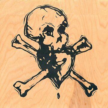 Skull Heart by boxspring