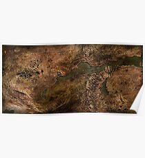 Dragon Age Map Poster