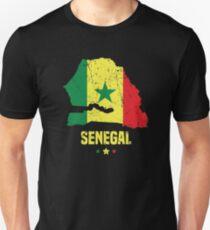 Senegal Flag Apparel Unisex T-Shirt
