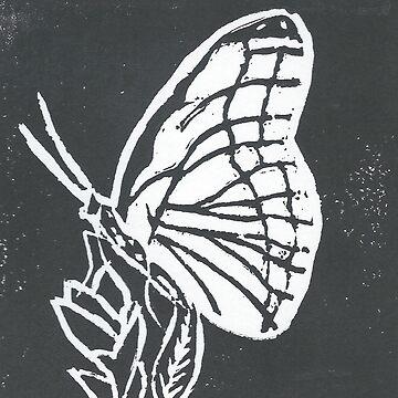 Monarch Print by Danigeheb