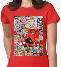 Stick Em Up Womens Fitted T-Shirt