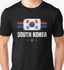South Korea Flag Korean Apparel Unisex T-Shirt