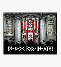 Dalek Pope XVII Photographic Print