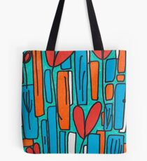 Floating Downstream Tote Bag