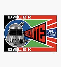 Dalek Deconstructivism Photographic Print