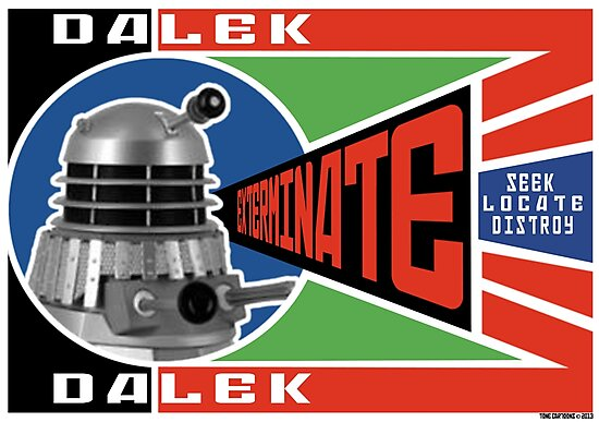 Dalek Deconstructivism by ToneCartoons