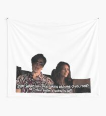 Your sister's going to jail Wall Tapestry