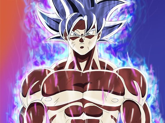Quot Goku Mastered Ultra Instinct Quot Poster By D34thdesing
