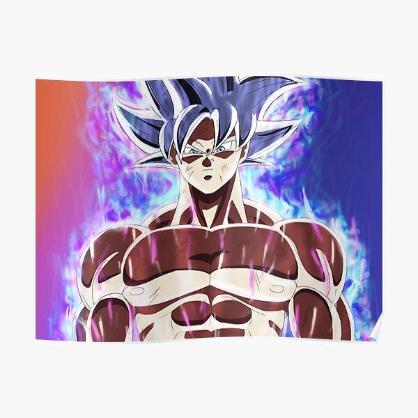 Goku maîtrisé Ultra Instinct Poster