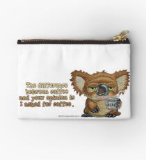 Drop Bear Coffee Opinion Studio Pouch