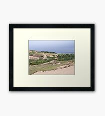 Walking Dunes Framed Print