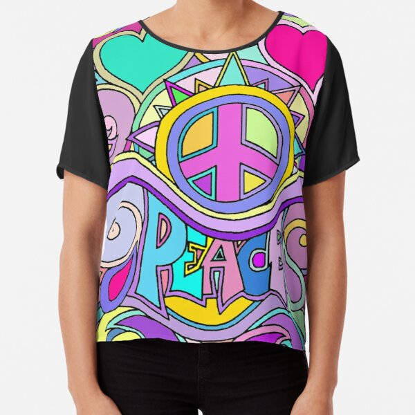 NEW MENS TRIPPY MAGIC PSYCHEDELIC LOVE ABSTRACT  T-SHIRT US SIZE REGULAR FIT