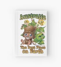Australia Best Place on Earth Hardcover Journal