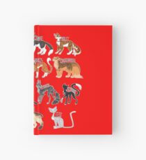 Every Named Bloodclan Cat Ever Hardcover Journal