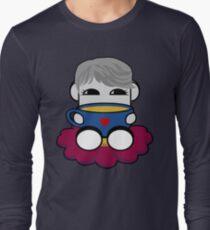 STPC: Haha Do O'BOT Toy Robot (Tea) Long Sleeve T-Shirt