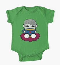 STPC: Haha Do O'BOT Toy Robot (Tea) Short Sleeve Baby One-Piece