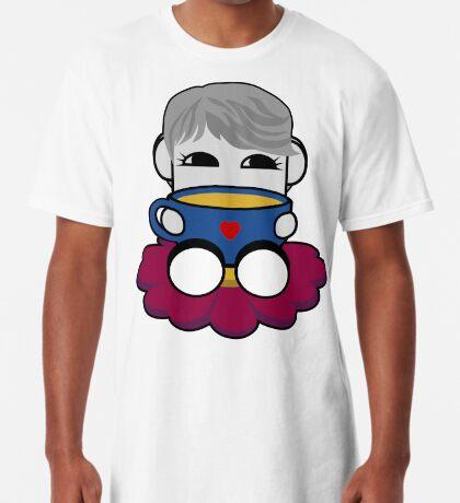 STPC: Haha Do O'BOT Toy Robot (Tea) Long T-Shirt