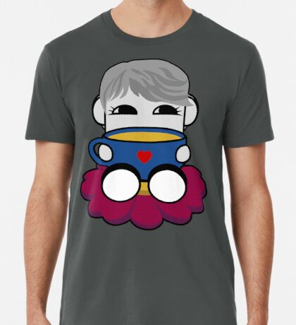 STPC: Haha Do O'BOT Toy Robot (Tea) Premium T-Shirt