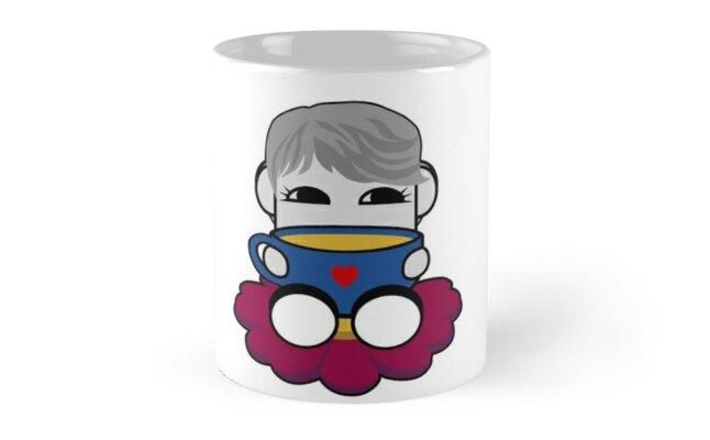 STPC: Haha Do O'BOT Toy Robot (Tea) by Carbon-Fibre Media