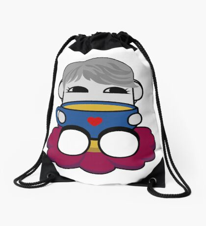 STPC: Haha Do O'BOT Toy Robot (Tea) Drawstring Bag