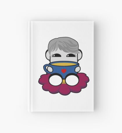 STPC: Haha Do O'BOT Toy Robot (Tea) Hardcover Journal