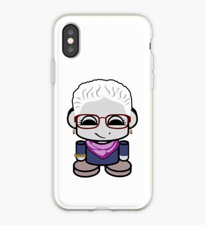 Grace O'BOT Toy Robot 1.0 iPhone Case