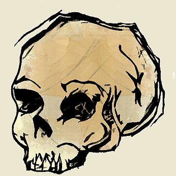 skull by boxspring