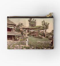 Iris garden at Horikiri, Japan Studio Pouch
