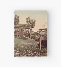 Iris garden at Horikiri, Japan Hardcover Journal