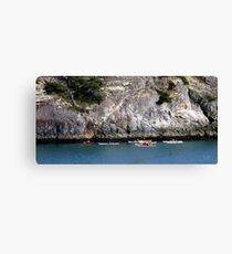 Bowman Bay Kayakers One Canvas Print