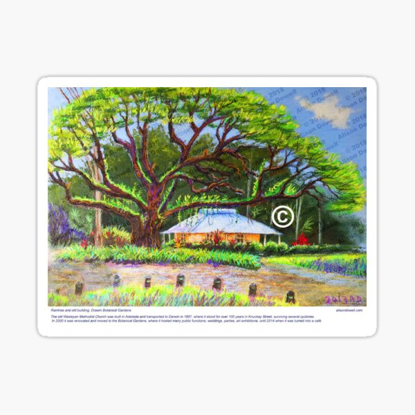 Botanic Gardens Cafe Sticker