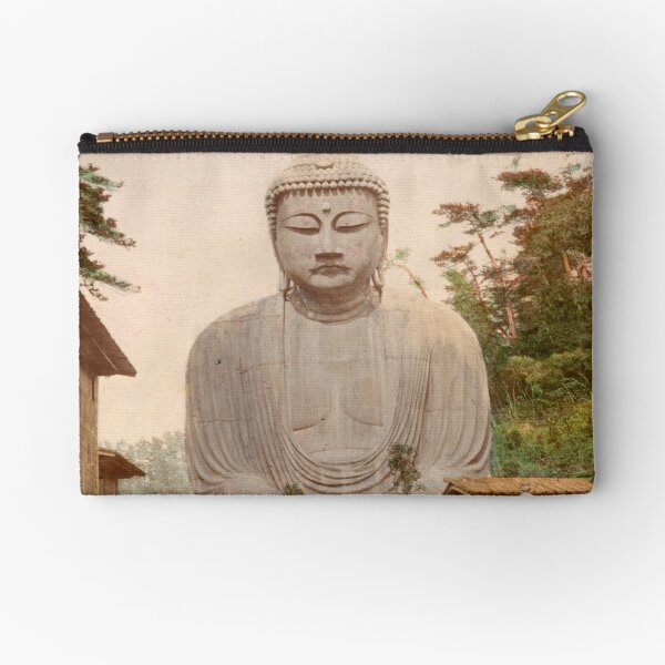 Giant Buddha, Japan Zipper Pouch