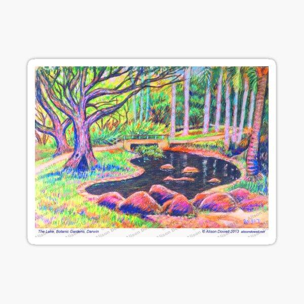 Botanic Gardens Lake Sticker