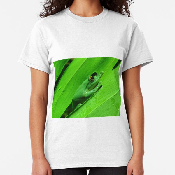 Green Tree Frog Classic T-Shirt