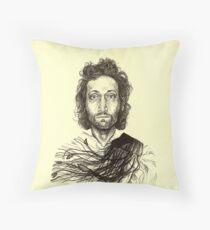 Vincent Gallo Throw Pillow