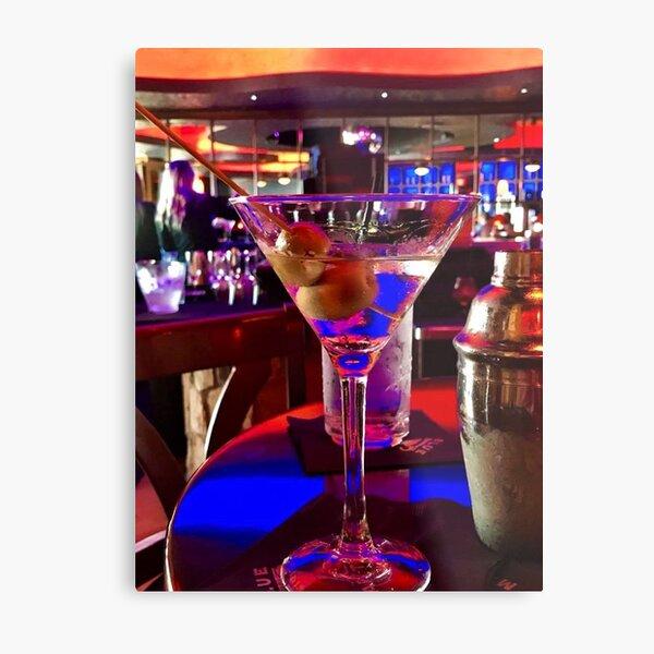 Martini Time !!!  Metal Print