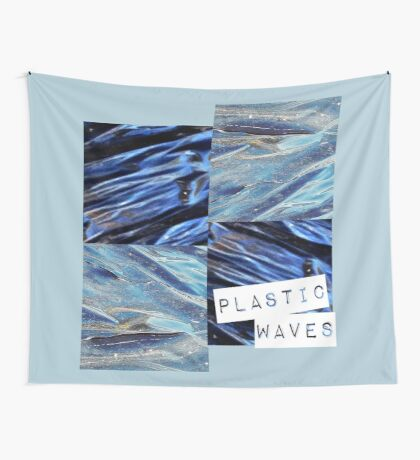 plastic waves  Wall Tapestry