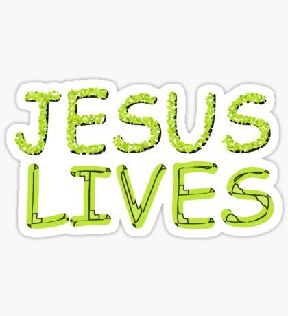 JESUS LIVES - Happy Easter! Sticker